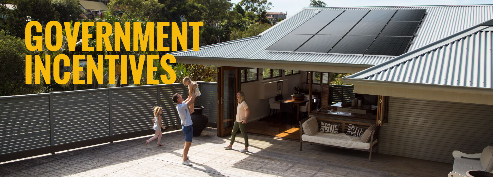 government incentives on solar with victorian solar