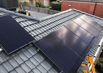 solahart eastern ranges solar installation