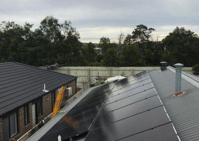 residential solar on budget solahart eastern ranges