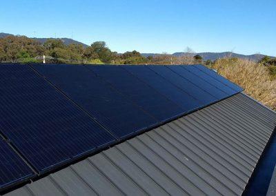 solahart eastern ranges roofing panels