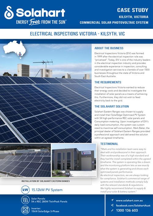 solar case study kilsyth