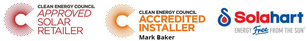 certified solar installer Mark Baker